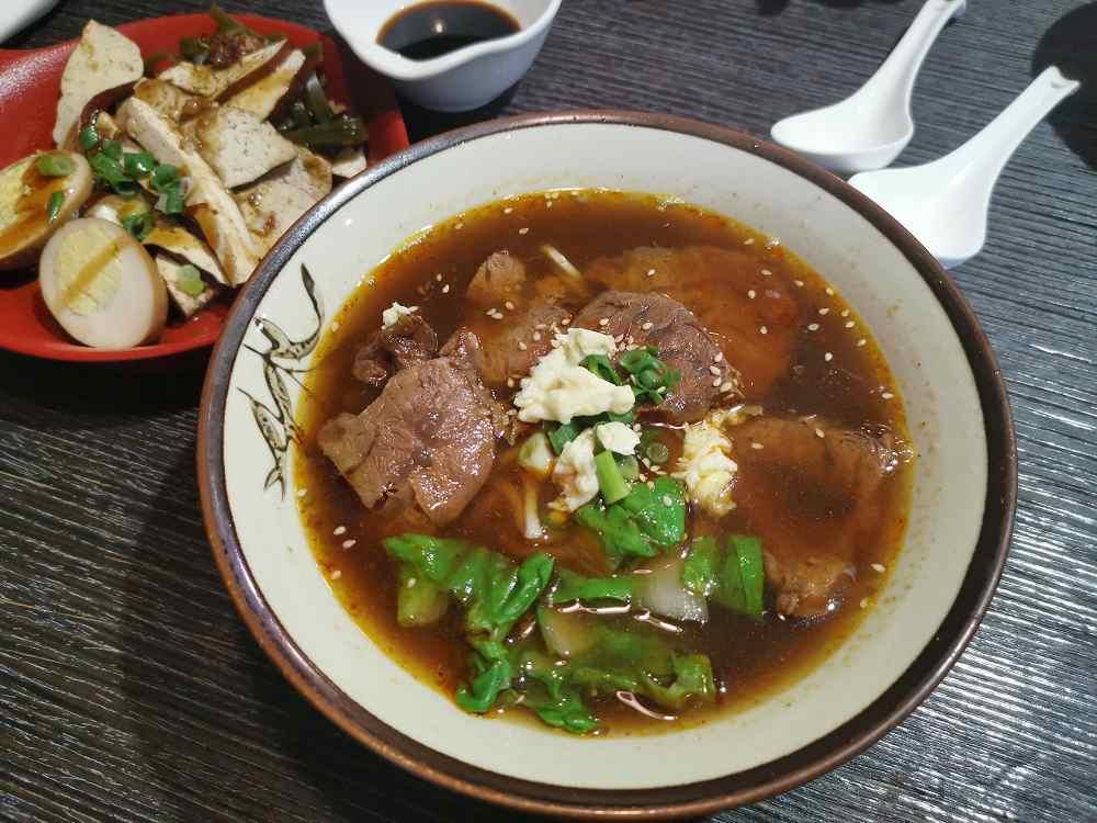 麵麵牛肉麵,湯頭好,評價超高的牛肉麵 @我眼睛所看見的世界(Fly's Blog)