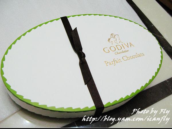 GODIVA巧克力甜點杯,奢侈的幸福(試吃) @我眼睛所看見的世界(Fly's Blog)