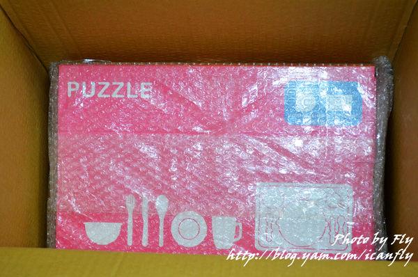 夾緊妹的新餐具,粉紅色的淘氣狗 @我眼睛所看見的世界(Fly's Blog)