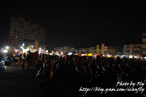 台南武聖夜市,大腸 香腸,不是大腸包小腸 @我眼睛所看見的世界(Fly's Blog)