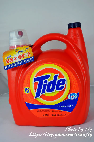 【體驗】全新Tide汰漬2X濃縮洗衣精 @我眼睛所看見的世界(Fly's Blog)