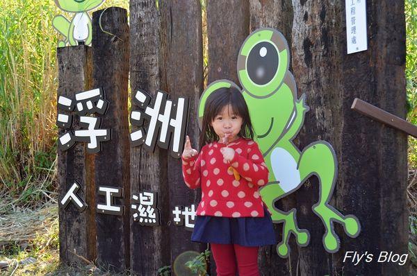 浮洲人工濕地,親子遊憩好去處! @我眼睛所看見的世界(Fly's Blog)