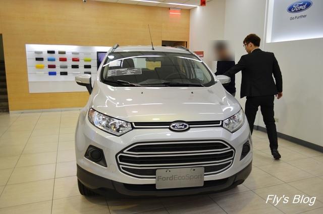 Ford Ecosport配備十足,令人心動的大空間輕休旅!(賞車體驗) @我眼睛所看見的世界(Fly's Blog)