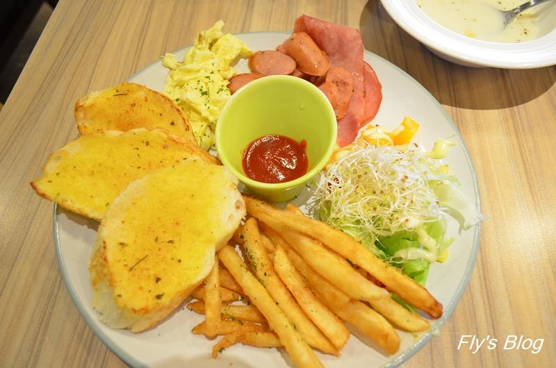 板橋DUMA親子餐廳(DUMA Brunch & Pasta),球池+溜滑梯就搞定小孩! @我眼睛所看見的世界(Fly's Blog)