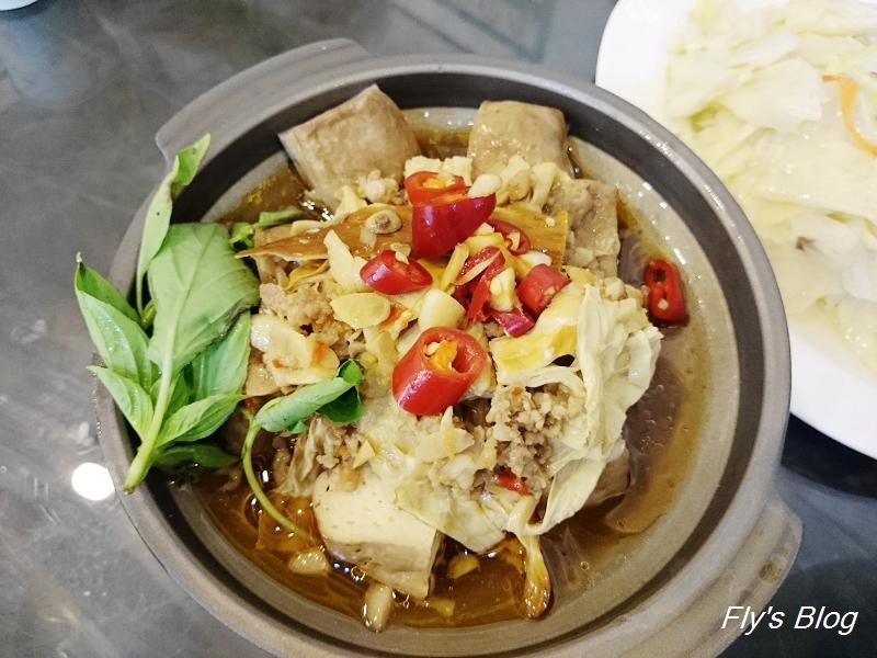 古早厝人文豆腐美食,少了焦香味的深坑豆腐,感覺少了點勁啊~~(手機食記) @我眼睛所看見的世界(Fly's Blog)