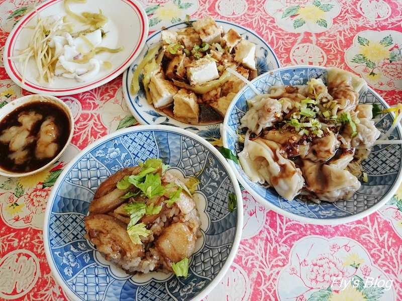 清水高家筒仔米糕,不輸米糕名店的超低調小吃,白色米辣醬超經典!!! @我眼睛所看見的世界(Fly's Blog)