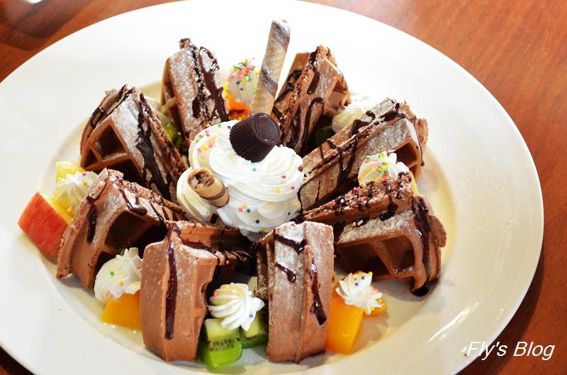 巧克力主題餐廳,巧克力入菜滋味妙,推薦阿茲特克巧克力麵(世界巧克力夢公園) @我眼睛所看見的世界(Fly's Blog)