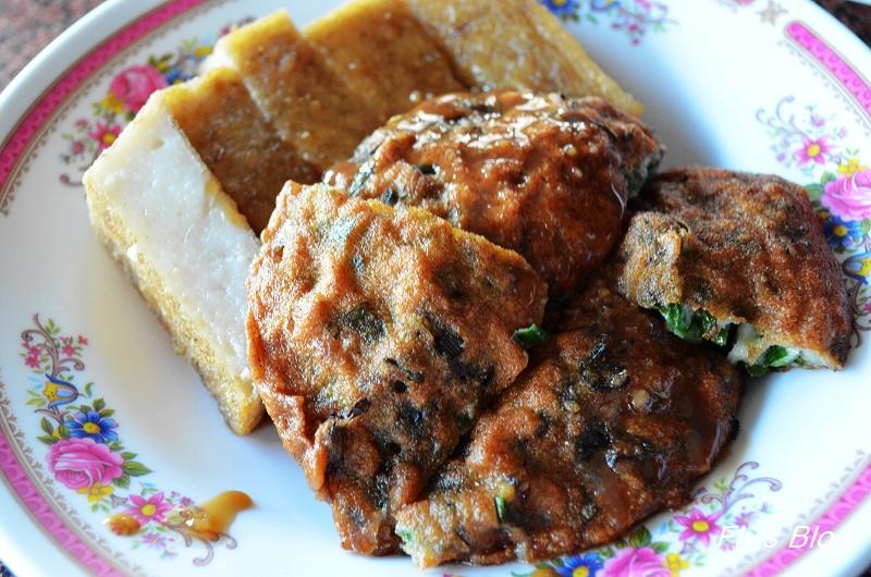清水 白 燒炸粿,在地人的早餐與下午茶,炸米糕與肉炸美味! @我眼睛所看見的世界(Fly's Blog)