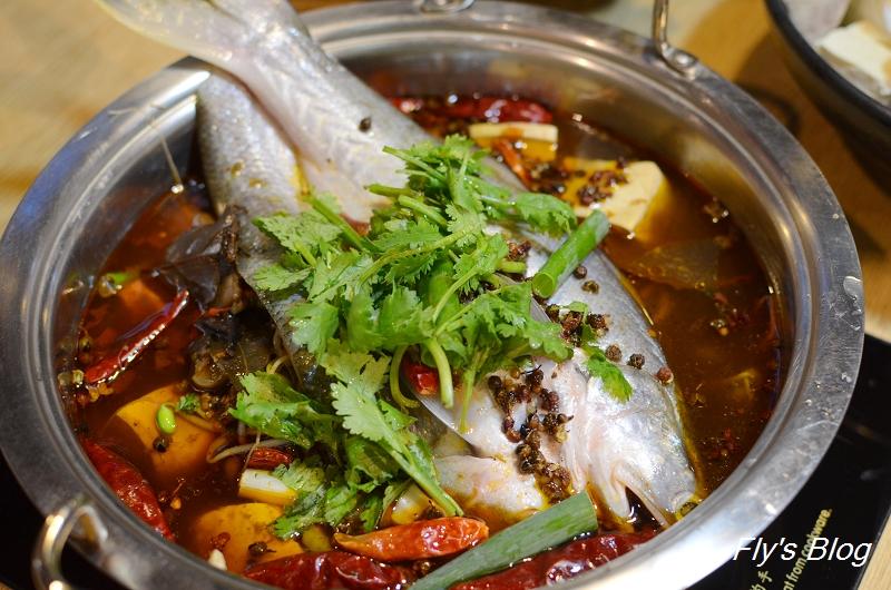 子辣個人麻辣鍋,一個人也能自在吃美味的麻辣鍋,推薦重慶水煮魚鍋 @我眼睛所看見的世界(Fly's Blog)