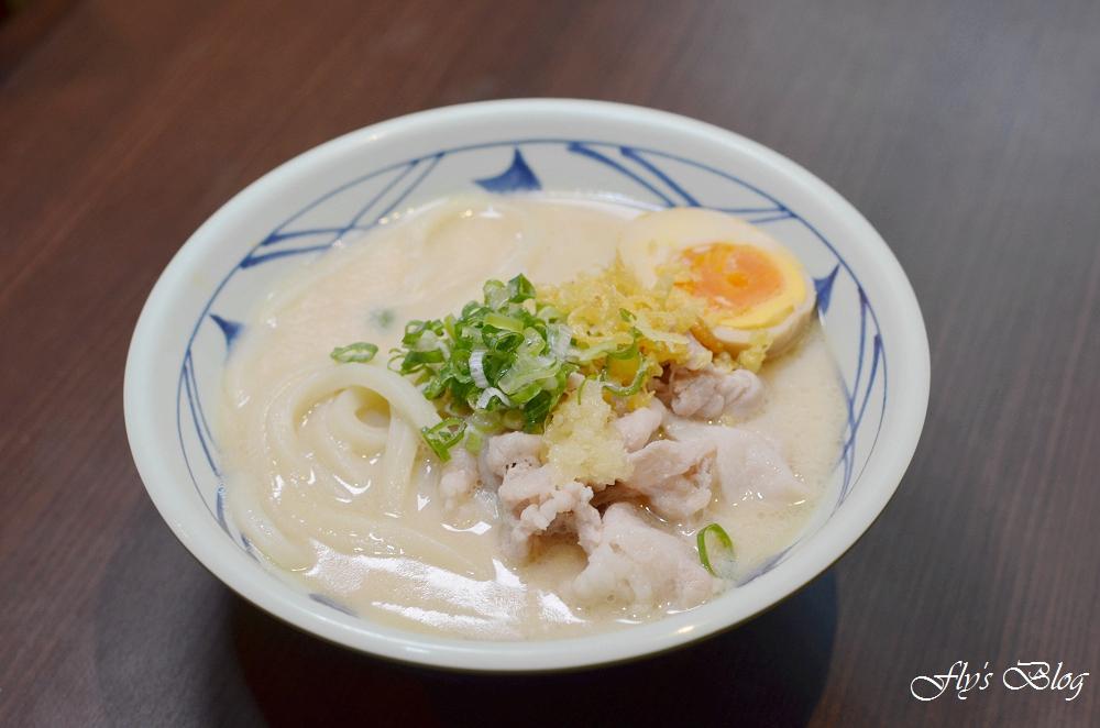丸亀製麵(丸龜) 來自日本好吃又平價的美味讚岐烏龍麵,大推季節限定番茄雞肉 @我眼睛所看見的世界(Fly's Blog)