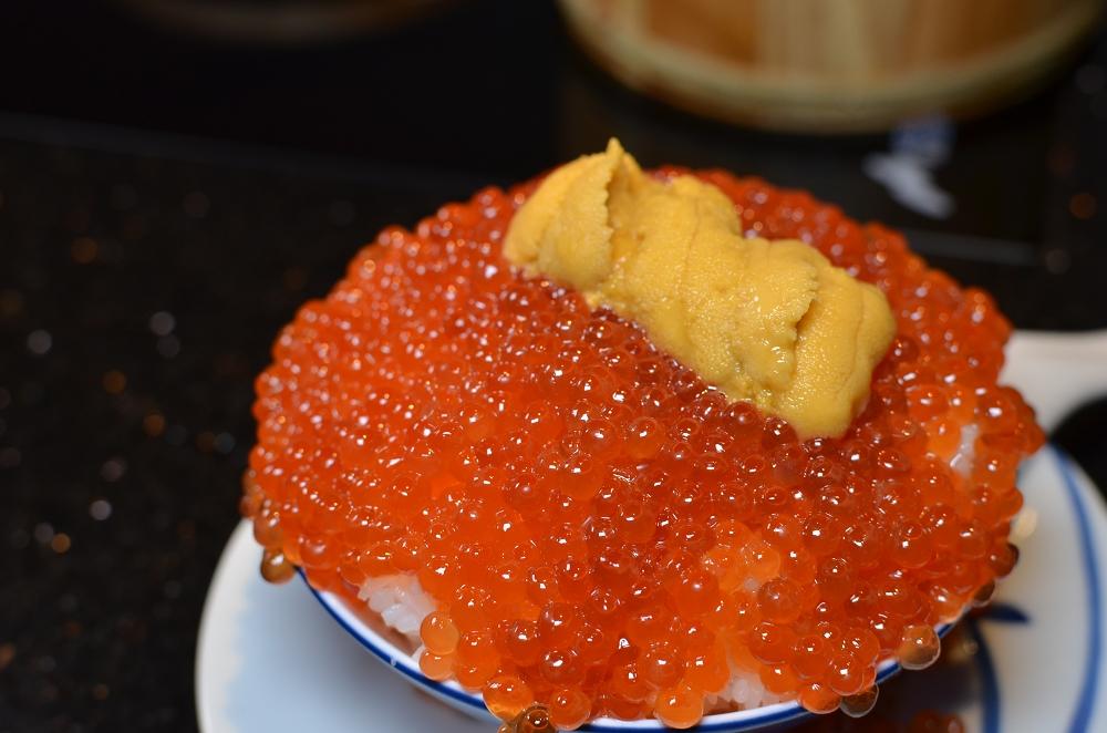 囍聚精緻鍋物,超浮誇的爆卵海膽蓋飯、新鮮海鮮鍋物 @我眼睛所看見的世界(Fly's Blog)