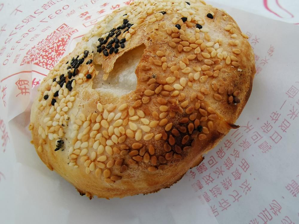 媽祖要我一定要出來吃,大橋頭胡椒餅(延三夜市、老店) @我眼睛所看見的世界(Fly's Blog)